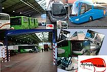 Μάντρα αποθεμάτων (στοκ) Autoybus