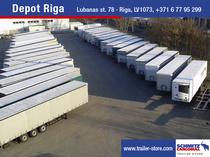 Μάντρα αποθεμάτων (στοκ) Schmitz Cargobull Latvija SIA