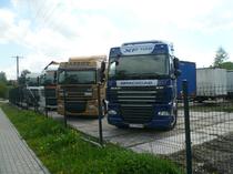 Μάντρα αποθεμάτων (στοκ) DAF CENTRUM Naprawa Samochodów