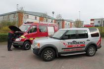 Μάντρα αποθεμάτων (στοκ) Terberg DTS UK Ltd – Fire & Rescue Division