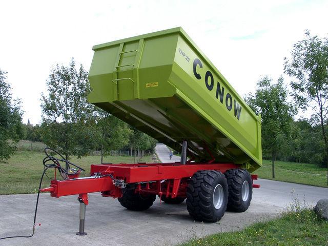 καινούρια αγροτική ρυμούλκα CONOW THP 22