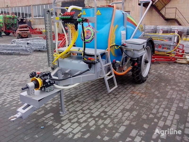 καινούριο αυτοκινούμενος ψεκαστήρας MAKSUS 2000 KAS ruchne rozkladannya