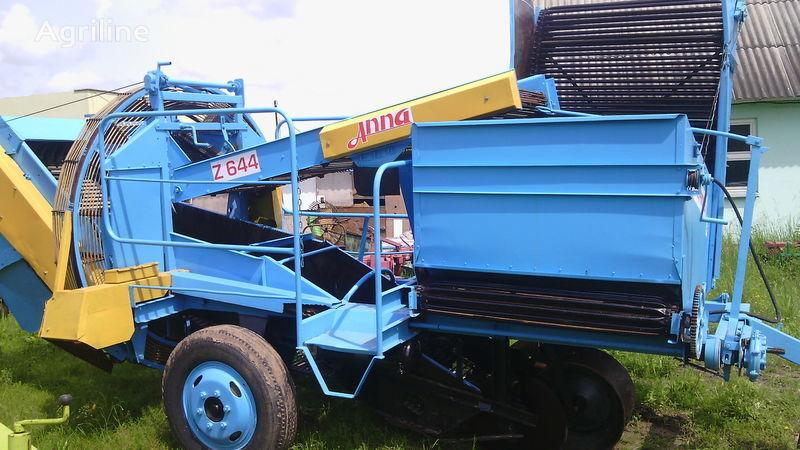εκριζωτική μηχανή γεωμήλων AGROMET ANNA-Z644 κατά ανταλλακτικό