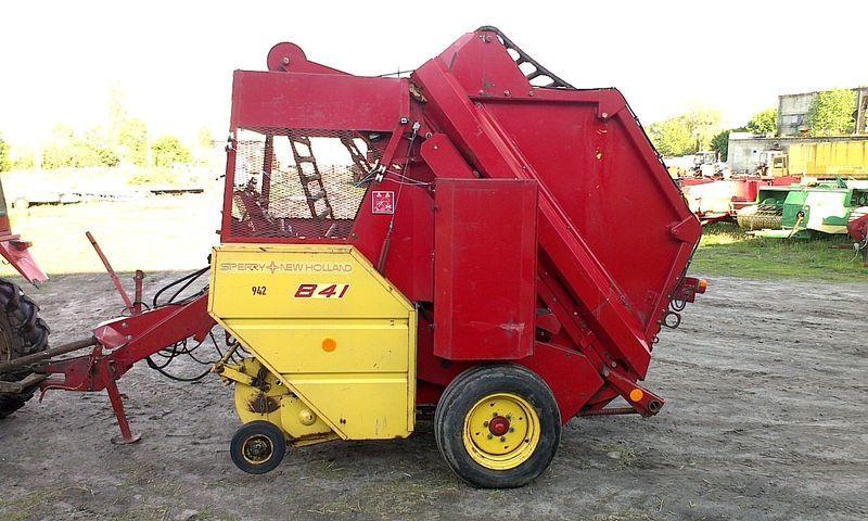 χορτοδετική μηχανή για μπάλες σανού NEW HOLLAND 841