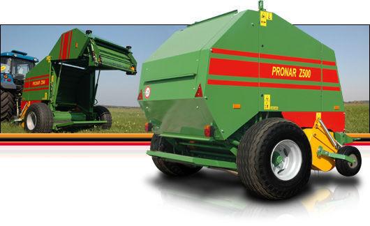 καινούρια χορτοδετική μηχανή για μπάλες σανού PRONAR Z 500