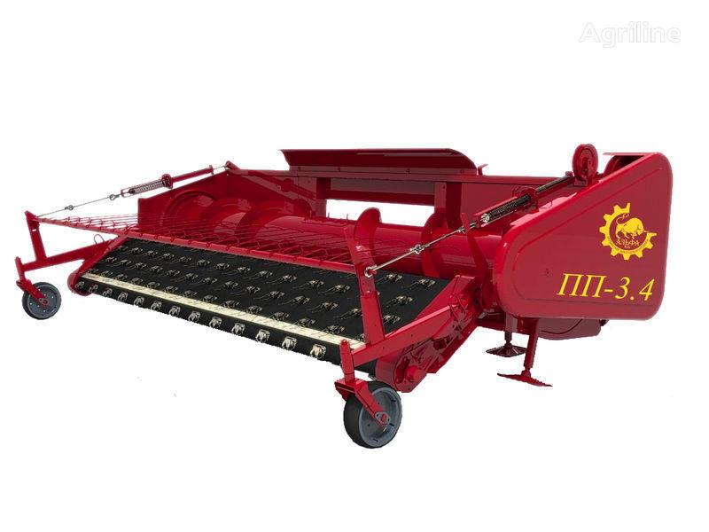 καινούρια χορτοδετική μηχανή για μπάλες σανού ROSTSELMASH Podborshchik valkov (pidbirach valkiv)PP-3,4