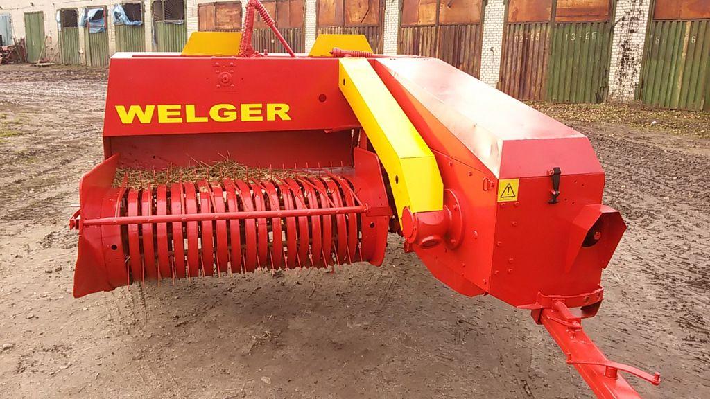 χορτοδετική μηχανή WELGER AP 45