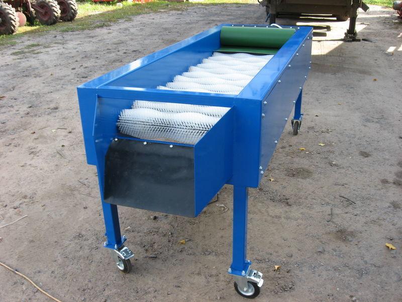 καινούριο μηχάνημα για πλύσιμο λαχανικών GRIMME Suhaya chistka 14 shchetok