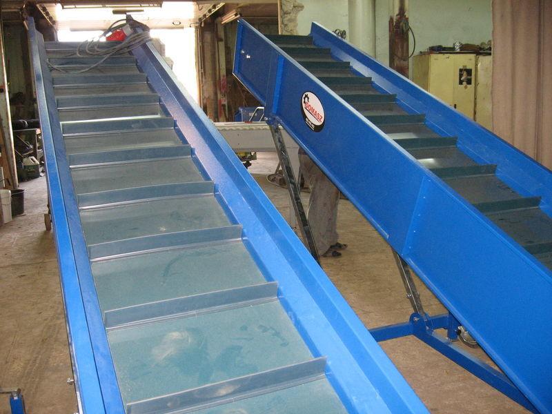 μονάδα διαλογής transporter (konveyer)