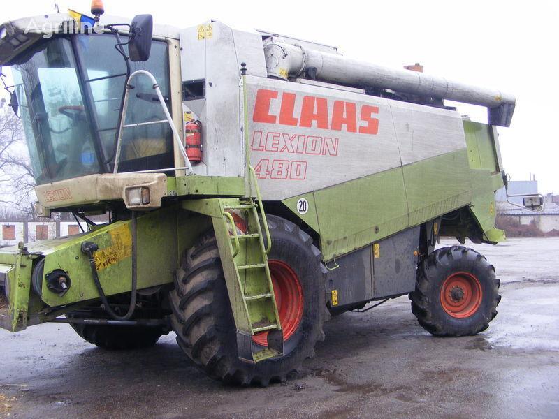 θεριζοαλωνιστική μηχανή CLAAS LEXION 480