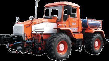 τροχοφόρο τρακτέρ MMT-2  Manevrovyy motovoz na baze traktora HTA-200