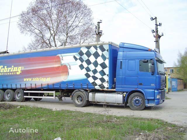 καινούριο φορτηγό DAF XF95 για αλεξήλιο