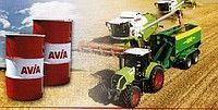 τρακτέρ για ανταλλακτικό  Universalnoe trasmissionnoe traktornoe i gidravlicheskoe maslo AVIA HYDROFLUID DLZ