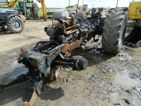 τρακτέρ DEUTZ-FAHR AGROTRON 130 για ανταλλακτικό  b/u zapchasti / used spare parts