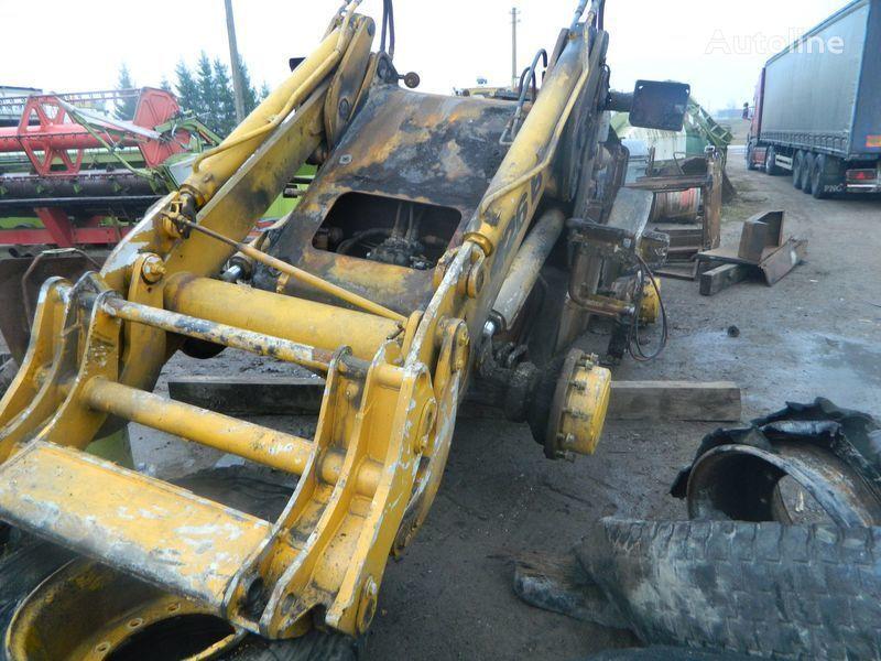 εμπρόσθιος τροχοφόρος φορτωτής JCB 426 για ανταλλακτικό  B/U ZAPChASTI/ used spare parts μετά απο τρακάρισμα