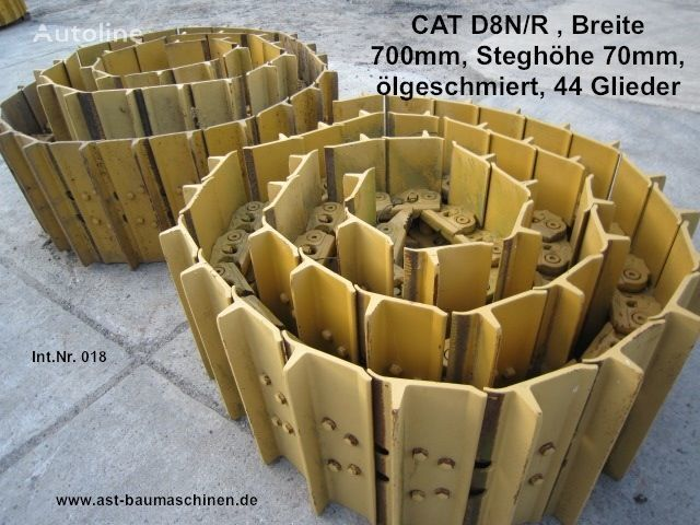 μπουλντόζα CATERPILLAR D8N/R για ερπύστρια  Caterpillar Kette mit Bodenplatten, used