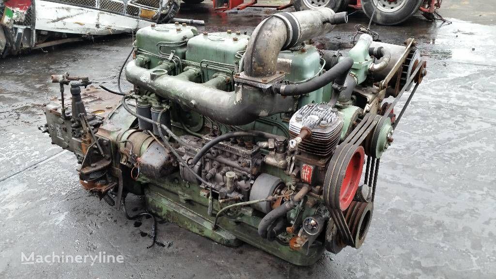 εμπρόσθιος τροχοφόρος φορτωτής HANOMAG henschel 3 6.80 για κινητήρας