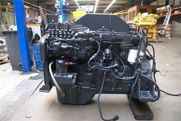 εμπρόσθιος τροχοφόρος φορτωτής KOMATSU S6D114 E1 για κινητήρας