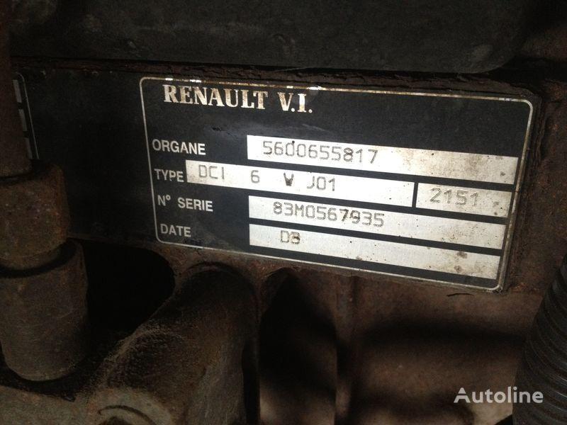 φορτηγό RENAULT 220.250.270 για κινητήρας  Renault dci 6v j01