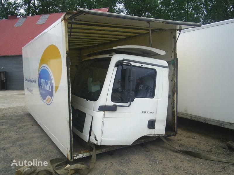 φορτηγό MAN TGL 7.150 για κουβούκλιο