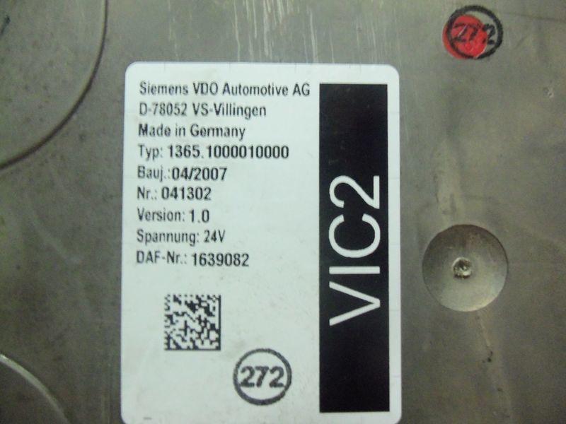 ελκυστήρας DAF 105XF για μονάδα ελέγχου  DAF VIC2 electronic control unit 1639082