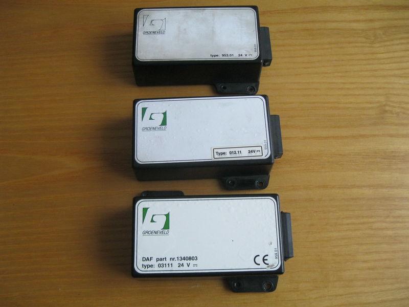 ελκυστήρας DAF 95 XF για μονάδα ελέγχου  Sterownik centralnego smarowania