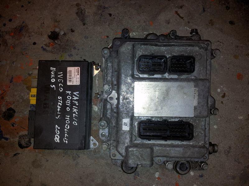 ελκυστήρας IVECO STRALIS για μονάδα ελέγχου  IVECO EURO5 450PS ECU 0281020048 engine computer EDC set (EDC, VCM - ELECTRONIC, chip), ignition set, 4462700020, 504122542