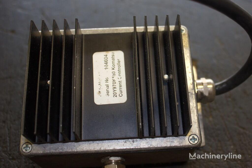 εκσκαφέας KOMATSU PC240LC-6 για μονάδα ελέγχου