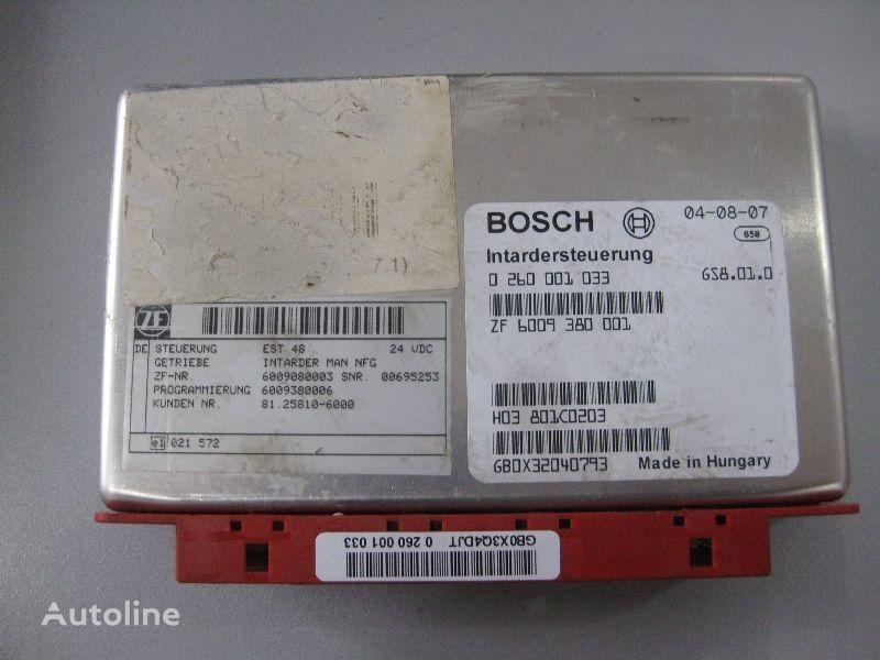 φορτηγό MAN για μονάδα ελέγχου  Bosch BOSCH
