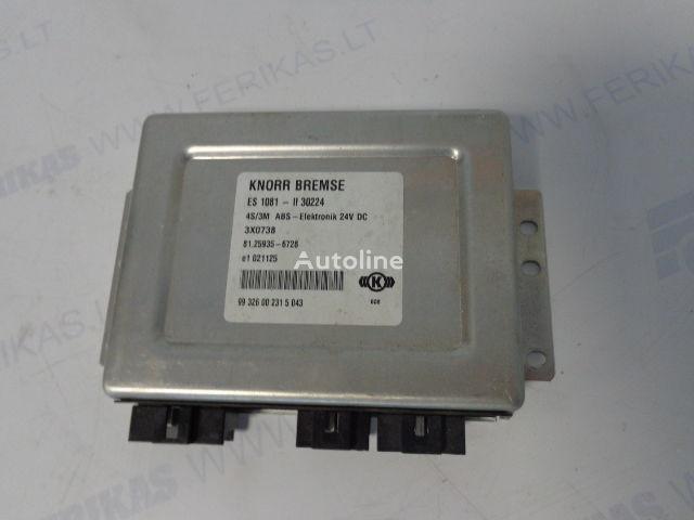 ελκυστήρας MAN για μονάδα ελέγχου  KNORR BREMSE ABS Elektronik 81259356728