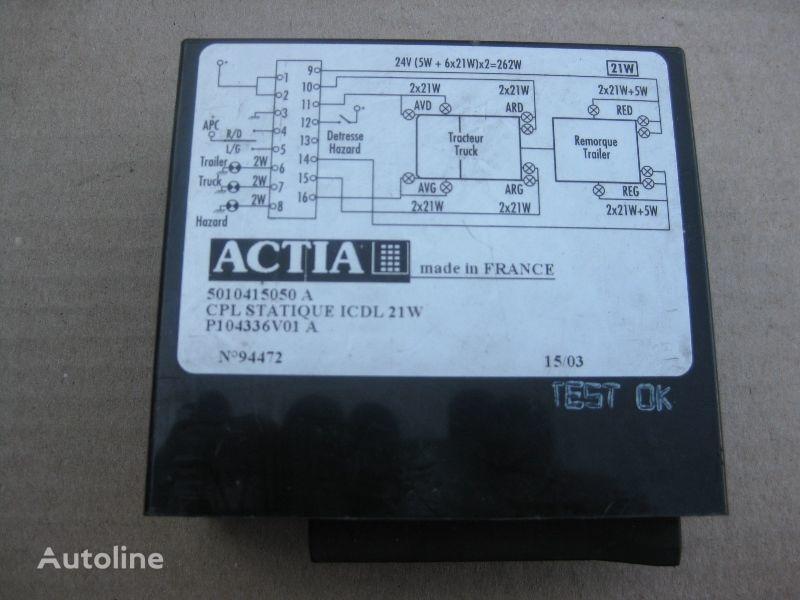 φορτηγό RENAULT για μονάδα ελέγχου  ACTIA