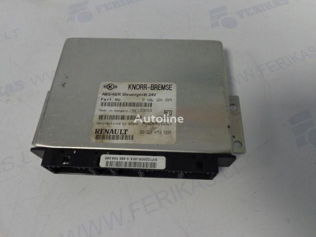 ελκυστήρας RENAULT για μονάδα ελέγχου  KNORR-BREMSE ABS ASR Steuergerat 0486104049,5010493009,BOCH MF1D25030067
