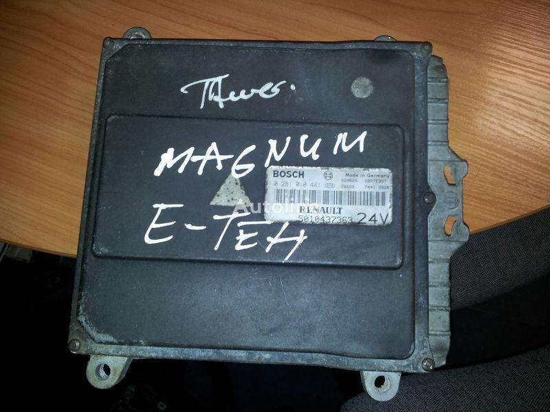 ελκυστήρας RENAULT Magnum E-TECH για μονάδα ελέγχου  RENAULT engine computer EDC, ECU, 5010437363, BOSCH 0281010481