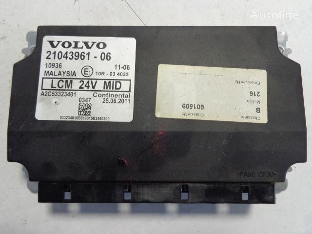 ελκυστήρας VOLVO FH για μονάδα ελέγχου  LCM 21043961, 20744283,20427169,20514900,20744283,20815236