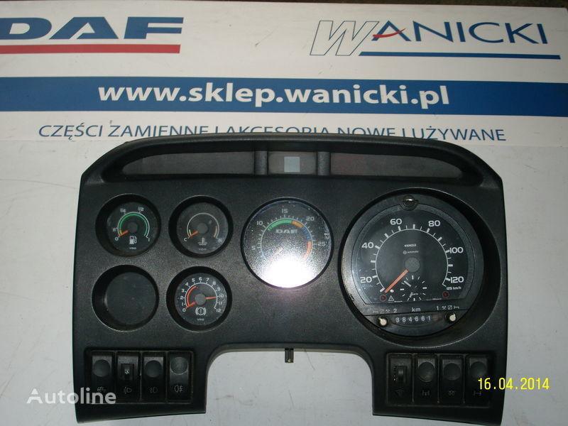 ελκυστήρας DAF για πίνακας οργάνων  DAF LICZNIKI, ZEGARY , TABLICA PRZYRZĄDÓW,Instrument panel, front