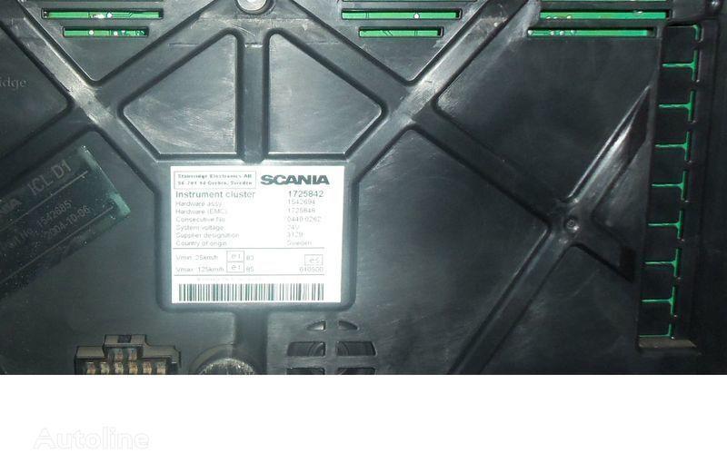 ελκυστήρας SCANIA R για πίνακας οργάνων  Scania R series instrument panel, instrument cluster, dashboard, 1725842 instrument cluster, 1507322, 1545985, 1545989, 1545993, 1763551, 1765222, 1849503, 1852891