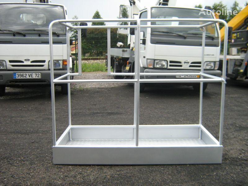 καινούριο πλατφόρμα εργασίας NISSAN Cabstar kosz do podnośnika zwyżki stalowy aluminiowy laminowany για πύργος φορτωτή