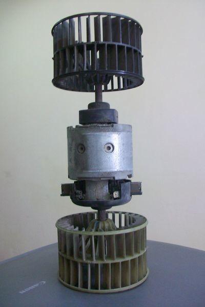ελκυστήρας DAF XF,CF για σώμα καλοριφέρ  Motor pechki