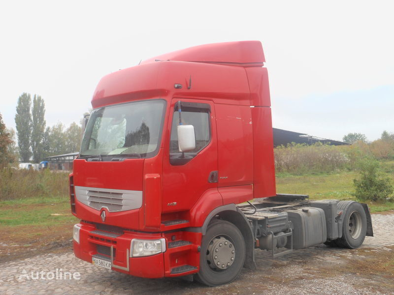καινούριο φορτηγό RENAULT Premium για σπόιλερ