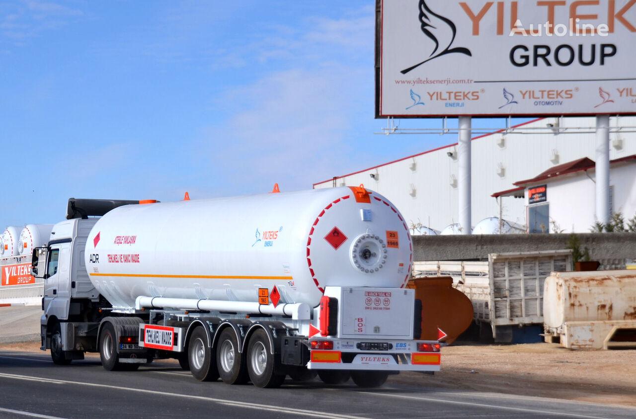 καινούρια δεξαμενή αερίου YILTEKS LPG TRAİLER - ADR