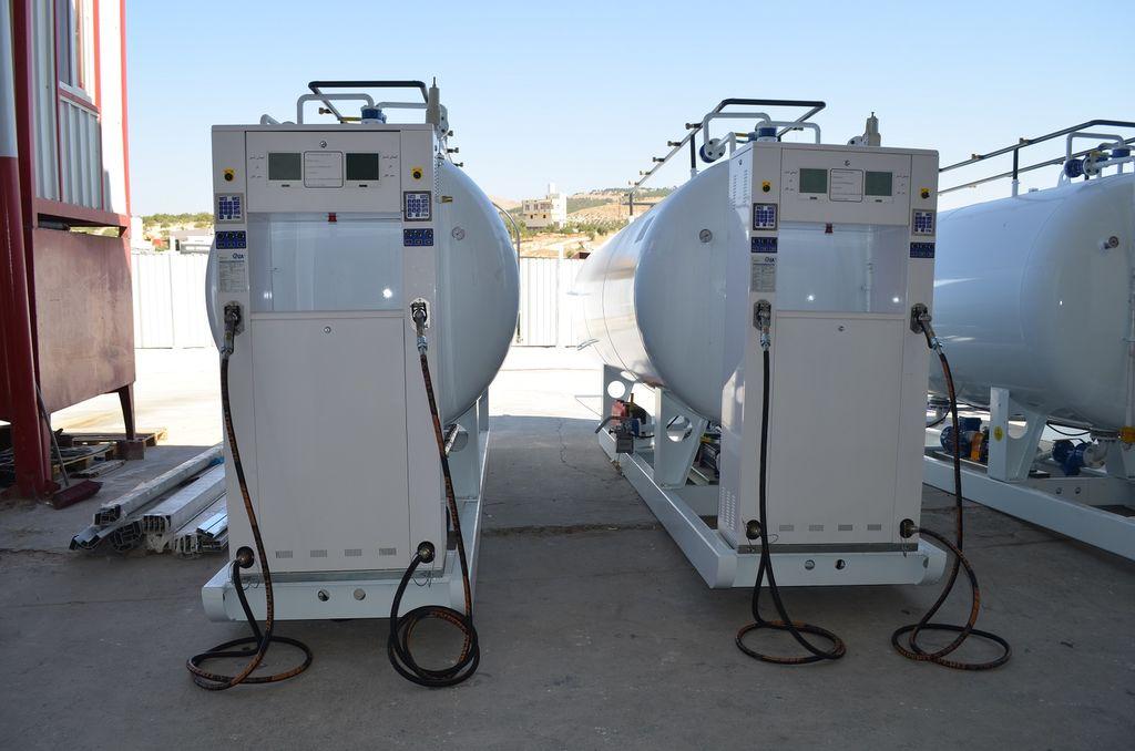 καινούρια δεξαμενή αερίου YILTEKS LPG skid Tank