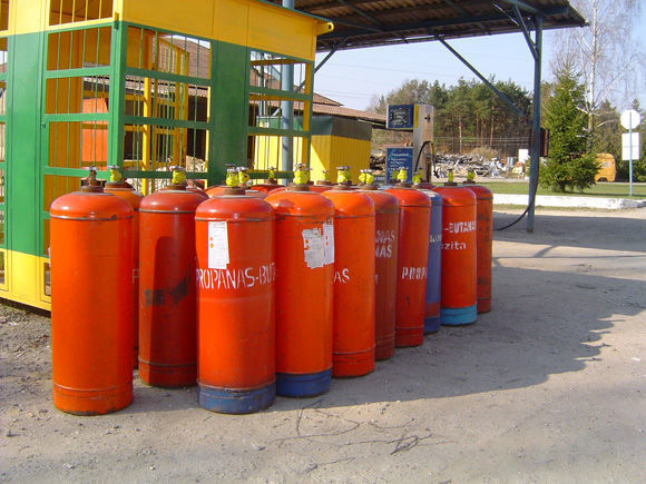 δεξαμενή αερίου ZBA LPG cylinders PROPAN BUTAN