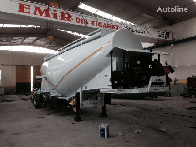 δεξαμενή σκυροδέματος EMIRSAN Direct from Factory Customized Cement Tankers , Brand NEw