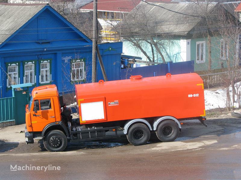 αποφρακτικό μηχάνημα KAMAZ Kanalopromyvochnaya mashina KO-512