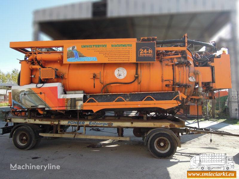 όχημα εκκένωσης βόθρων D/MRW/0173-18