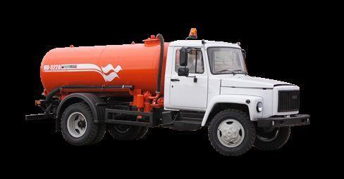 όχημα εκκένωσης βόθρων GAZ Vakuumnaya mashina KO-522B