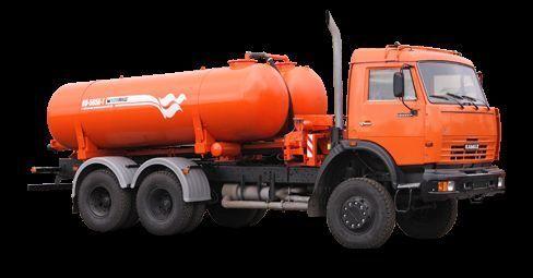 όχημα εκκένωσης βόθρων KAMAZ Vakuumnaya mashina KO-505A-1