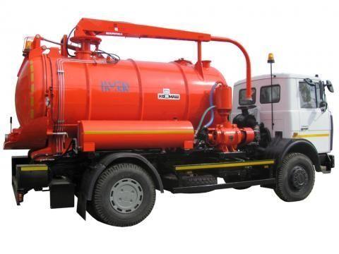 όχημα εκκένωσης βόθρων MAZ KO-530-21