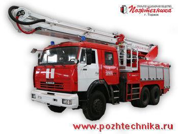 πυροσβεστικό κλιμακοφόρο KAMAZ ACPK-2,0-40/100-24