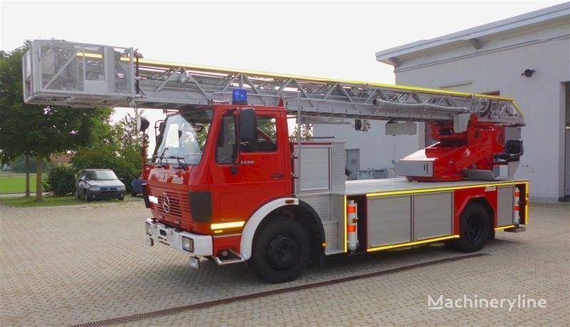 πυροσβεστικό κλιμακοφόρο MERCEDES-BENZ F20126-Metz DLK 23-12 - Fire truck - Turntable ladder